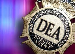 DEA badge Reclassification of Marijuana